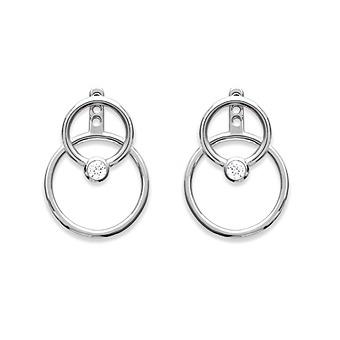 Boucles d'oreilles Argent 925 Rhodié - ROSANE