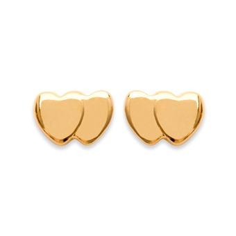 Boucles d'oreilles Plaqué OR - NANDY