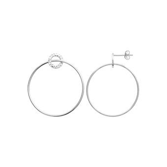 Boucles d'oreilles Argent 925 Rhodié - HANISSA