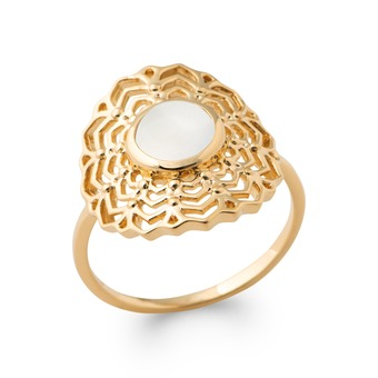 Bague Plaqué OR - INDRANI